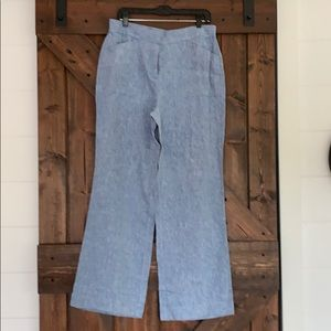 NWT Chico's the ultimate fit Size 1 Linen Pants
